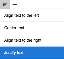 Alignment Options